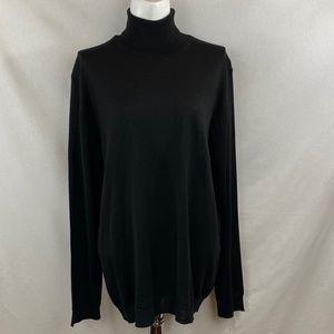 Zara Classic Black Turtleneck - XL